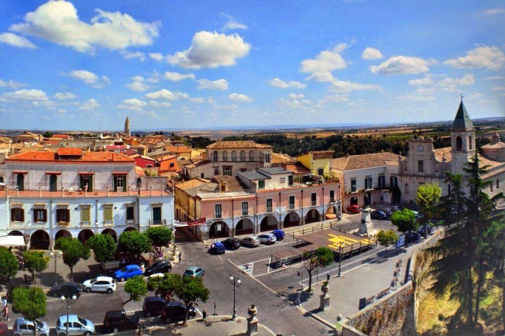 Piazza Castello Venosa