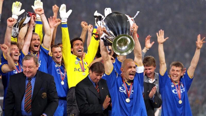 Juventus Champions League 1996