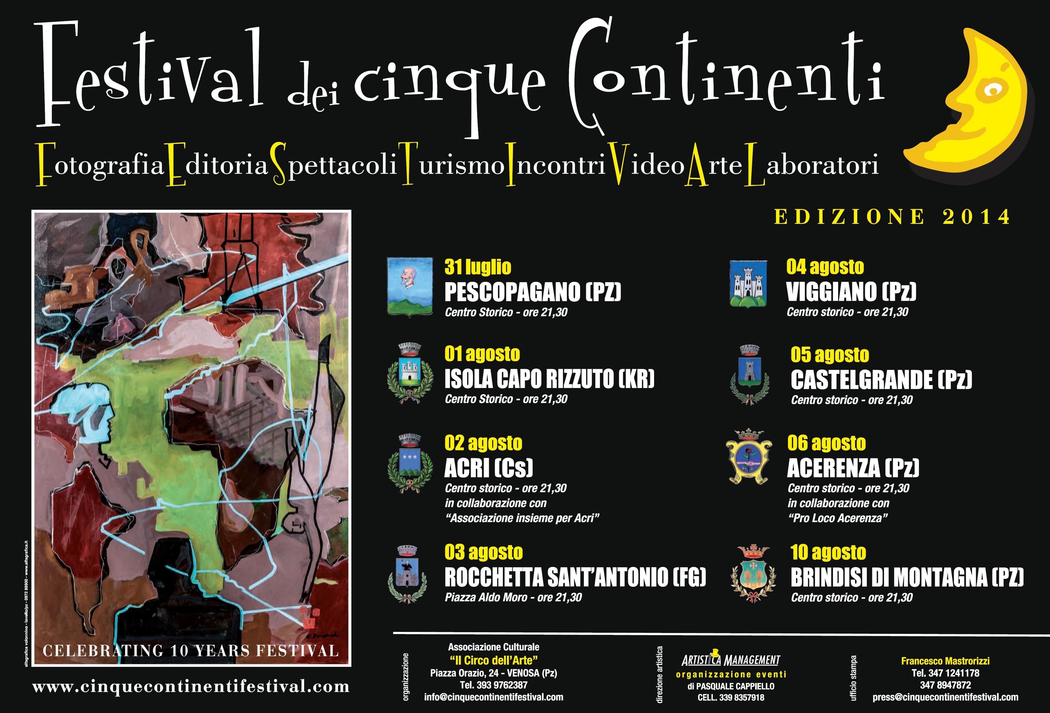 Festival dei Cinque Continenti: grandi novità per ...