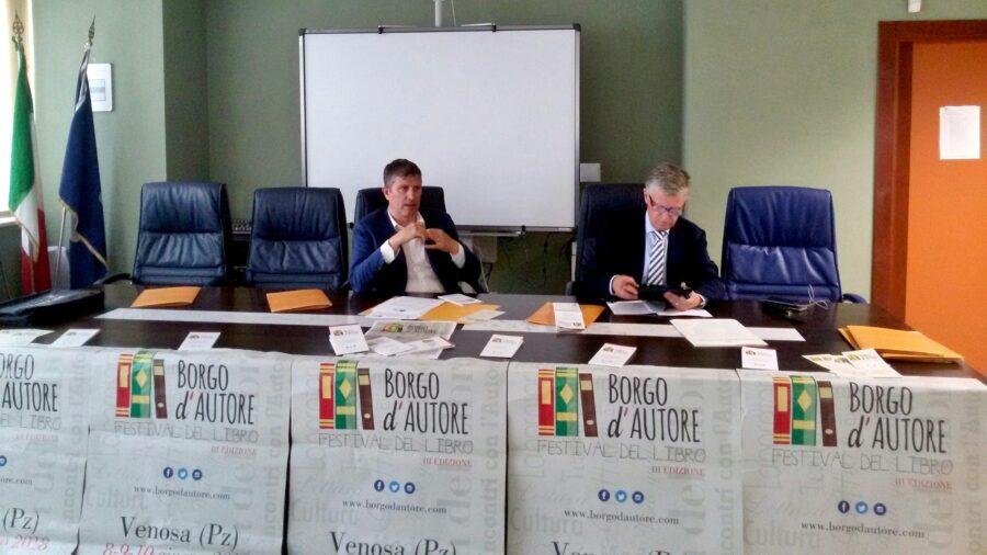 conferenza stampa borgo d'autore 2018