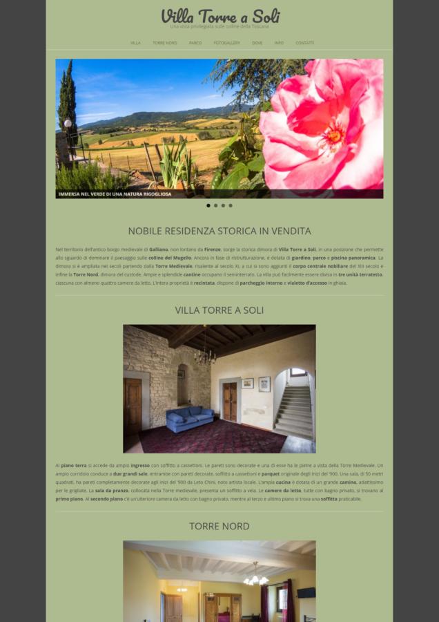 Villa Torre a Soli