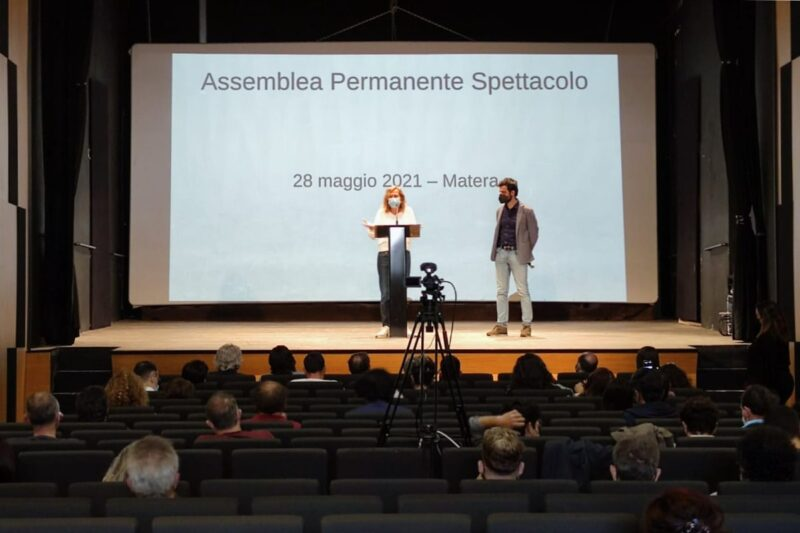 assemblea spettacolo matera